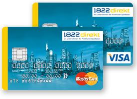 1822direct Kreditkarten