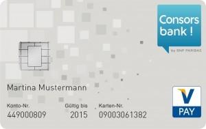 Consorsbank Girocard