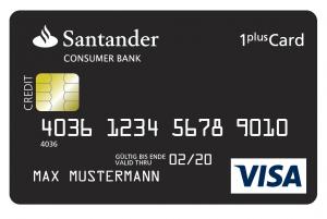 Santander Visa Card