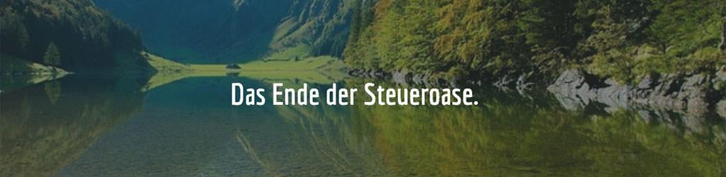 Steueroase Schweiz