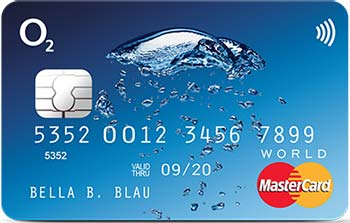 o2 banking debit mastercard