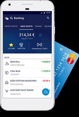 o2 Banking Mobile mit App