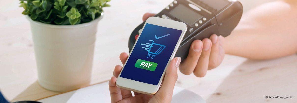 Kontaktloses Bezahlen mit Apple Pay