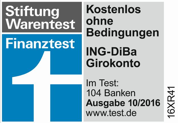 ING Girokonto Stiftung Warentest