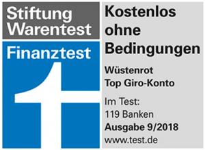 wüstenrot Girokonto Stiftung Warentest 2018