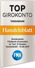 Auszeichnung-Targobank-TopGirokonto-Handelsblatt-2017