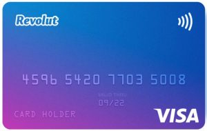 Revolut VisaCard