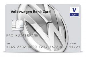 Volkswagenbank Debitkarte