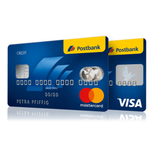 Postbank-Kreditkarten-Visa-Mastercard