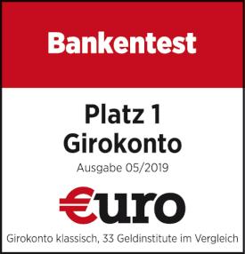 Siegel €uro 2019 norisbank