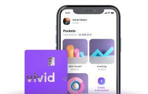 App und Kreditkarte von Vivid Money